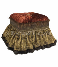 Brussels II Foot Stool/Vanity Stool