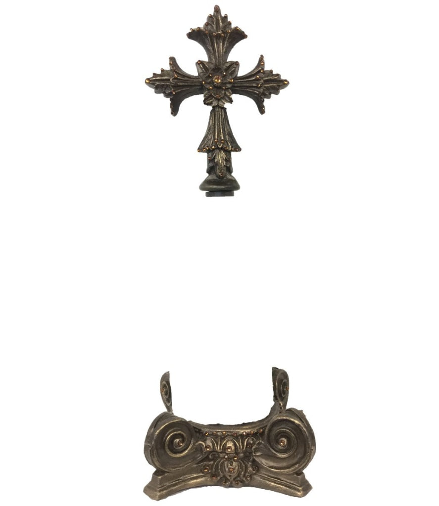 Decorative_paper_towel_holder-cross_paper_towel_holder-old_world_paper_towel_holder-kitchen_decor-fleur_de_lis-reilly_chance_collection