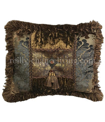 Decorative_pillows-accent_pillow-jeweled_pillows-bronze_rectangle_pillow-old_world_style_pillow-reilly_chance
