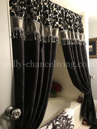 Custom Decorative Shower Curtains