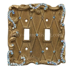 Decorative_switch_plate_covers-lattice-double_flip_switch-sir_olivers-reilly_chancecollection
