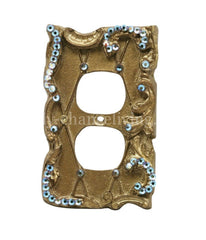 Decorative_switch_plate_covers-lattice-swarovski_crystals-double_rocker_dimmer_switch-sir_olivers-reilly_chance_collection