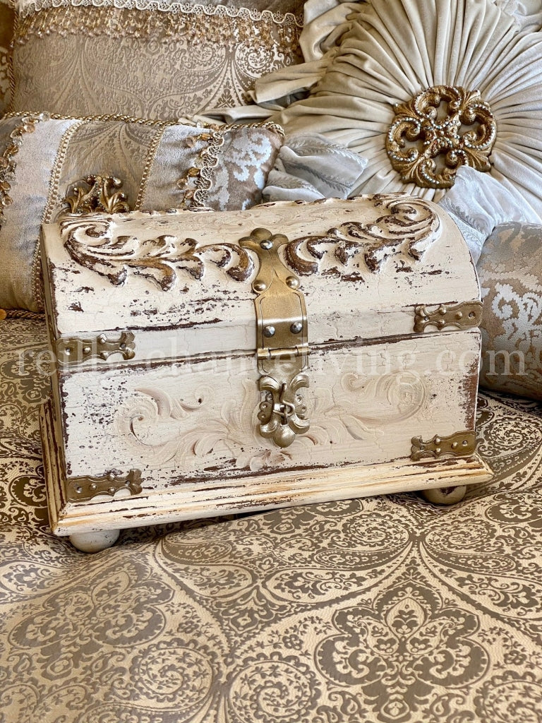 Decorative_tabletop_box-hand_carved_wood_treasure_chest_box-old_world_decor-tuscan_home_decor-reilly_chance