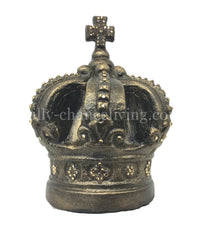 Jeweled Crown Candle Topper/Table Top Decor Ex.Lg  9