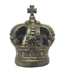 Jeweled Crown Candle Topper/table Top Decor Ex.lg 9 Tall Home