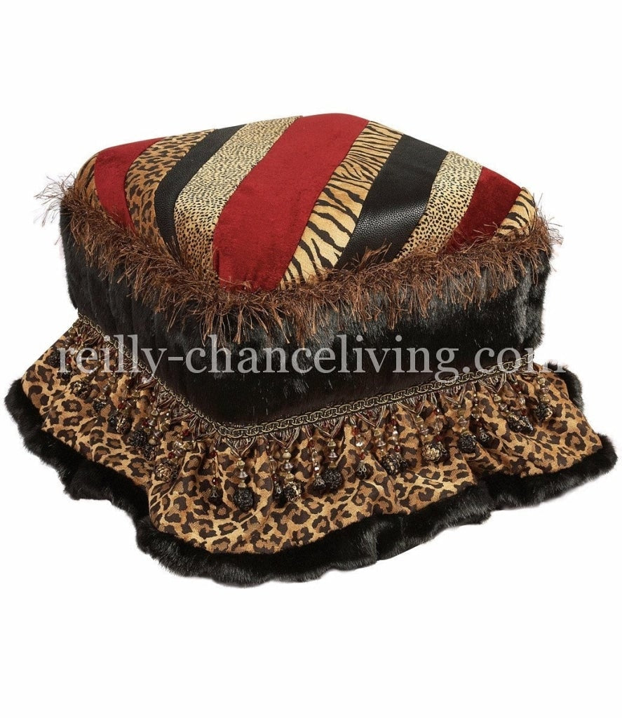 Foot_stool-leopard_print-red-faux_fur-reilly_chance_collection
