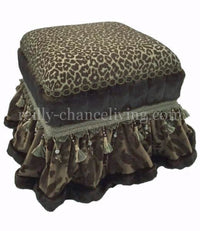 Aristocat Foot Stool/ Vanity Stool