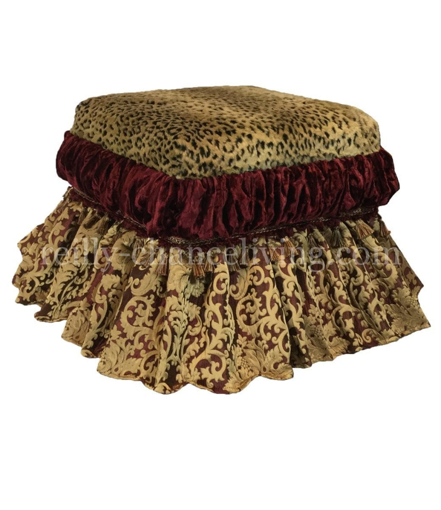 Swell Majesty Foot Stool Vanity Stool Dailytribune Chair Design For Home Dailytribuneorg