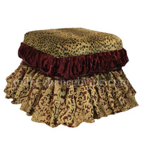Majesty Foot Stool/Vanity Stool
