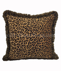 Accent Pillow Leopard Chenille  21x21