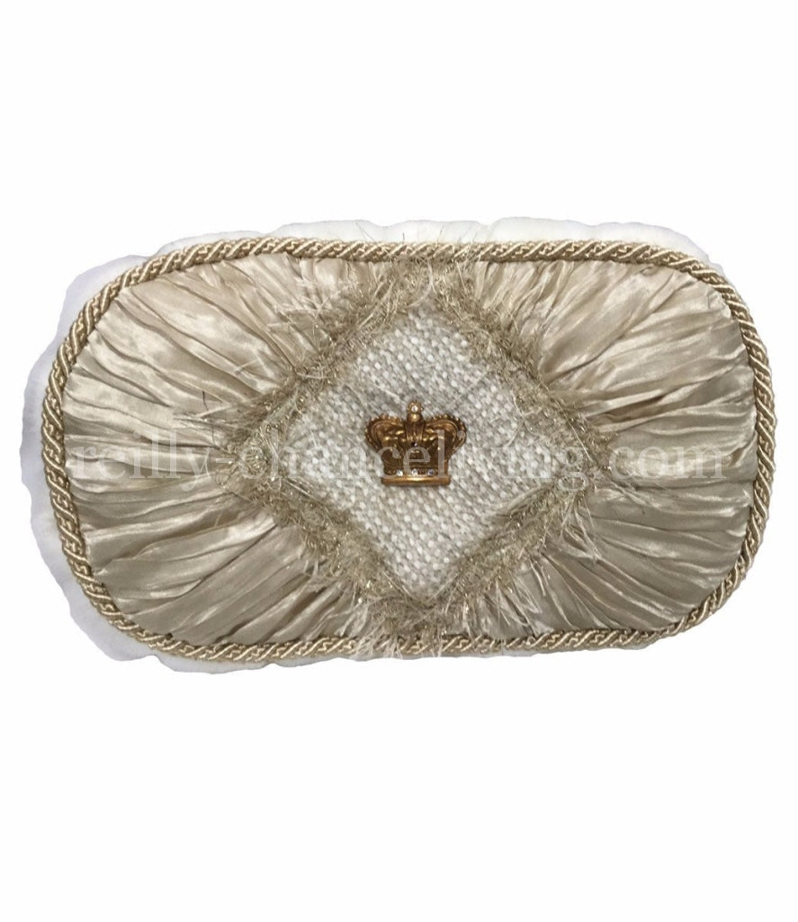 Luxury_decorative_pillow-cream_faux_silk-faux_fur-jeweled_crown-reilly_chance_collection