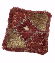 Luxury_accent_pillow-square-velvet_cheetah-red_damask-embellished-swarovski_crystals-reilly_chance_collection