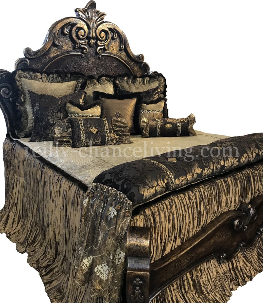 Zanzibar II Luxury Old World Bed Set