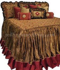 Crimson Luxury Bedding Set Bedding