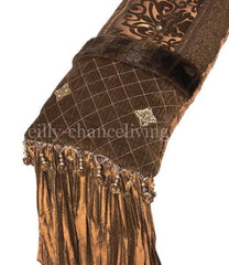 Luxury_bedding_pillow-chocolate_brown-chenille-silk-jewels-reilly_chance_collection