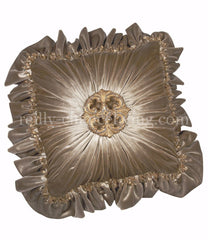 Luxury_decorative_pillow-square-grey_velvet-ruffled-Swarovski_crystals-medallion-reilly_chance_collection_grande