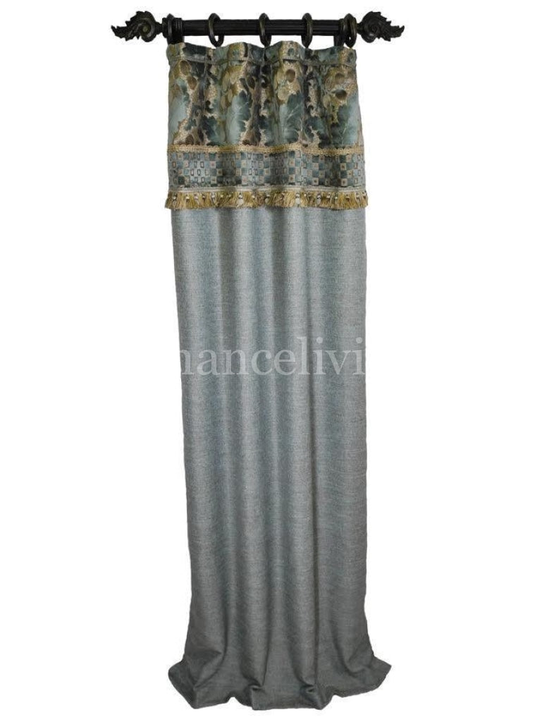 Luxury_drapery_panel-curtains-blue-taupe-linen-chenille-beads-reilly_chance_collection