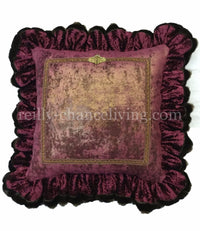 Isabella Ruffled Euro Pillow (25x25 not incl. ruffle)