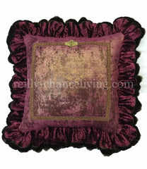 Luxury_euro_pillow-faux_mink_ruffle-old_world_decor-luxury_bedding-designer_bedding-reilly_chance_bedding_grande