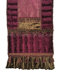 Designer Table Runner Isabella 18x72 (not incl. ruffle)