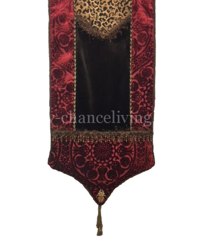 Old World Style Holiday Table Runner Camelot