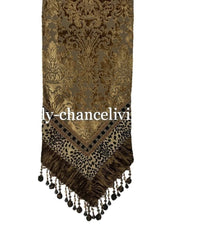 Old World Luxury Table Runner Brussels and Leopard