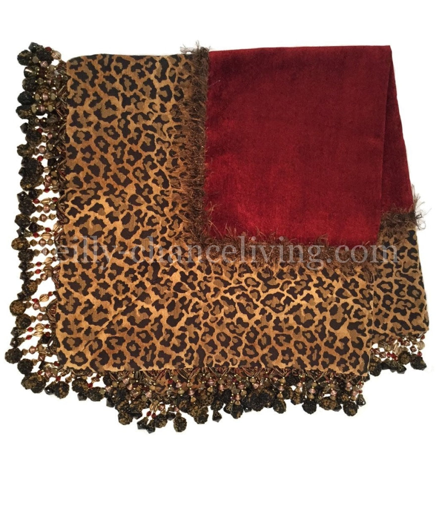 Luxury_table_square-red_chenille-leopard_print-beads-reilly_chance_collection_grande