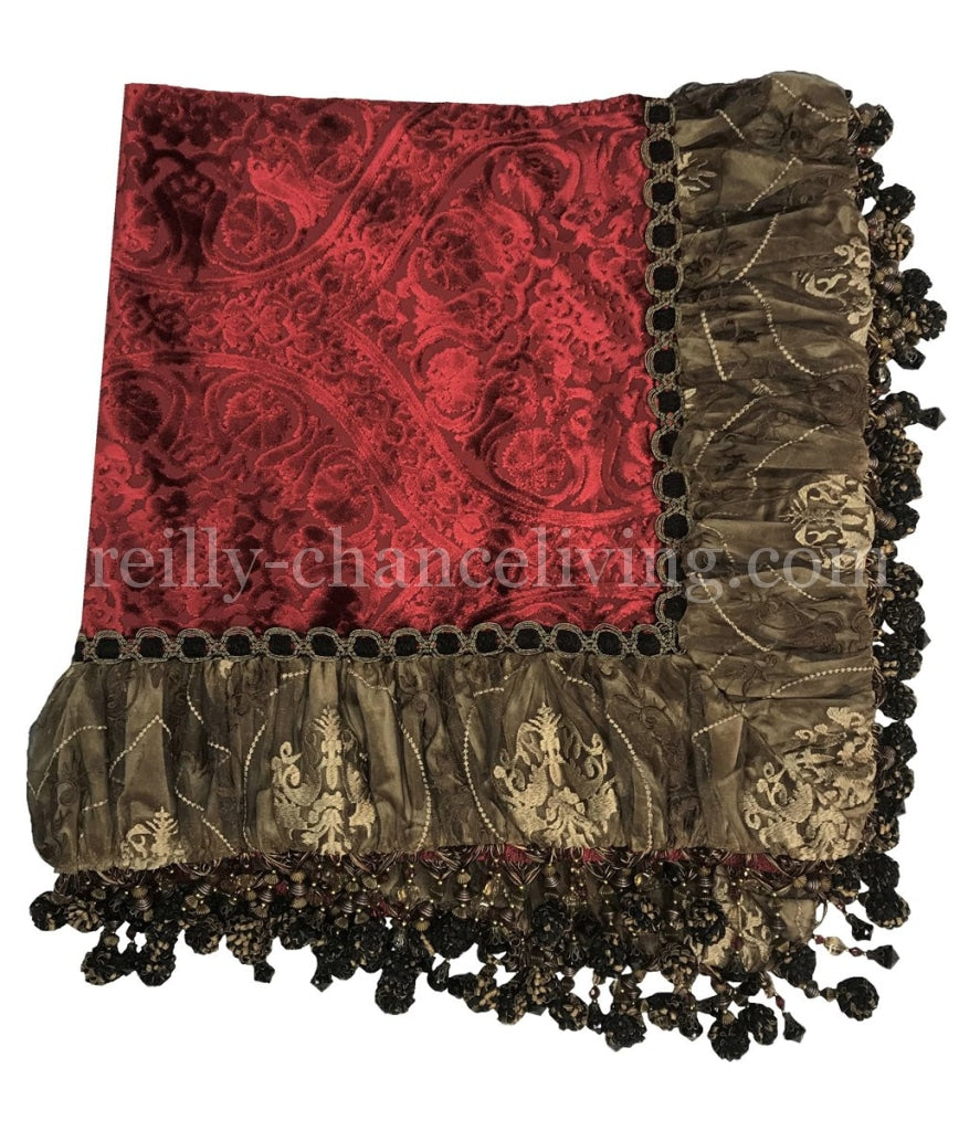 Luxury_table_throw-red_velvet_table_throw-designer_table_squares-opulent_table_linens-old_world_decor-reilly_chance
