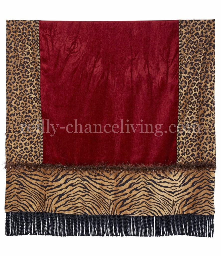 Luxury_throw-leopard-tiger-red-chenille-bullion-reilly_chance_collection