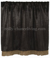 Luxury Throw Brown Faux Mink
