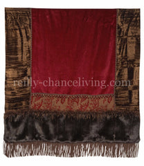 Luxury_throw-red_chenille-chocolate_velvet-faux_fur-reilly_chance_collection