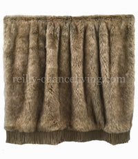 Luxury Versailles Faux Fur Throw
