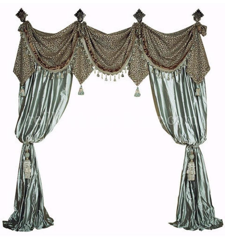 Aristocat Curtain Luxury Drapes Reilly Chance Collection