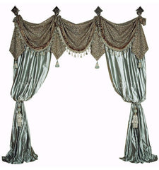 Luxury_window_treatments-curtains-leopard-spa_green-silk-reilly_chance_collection