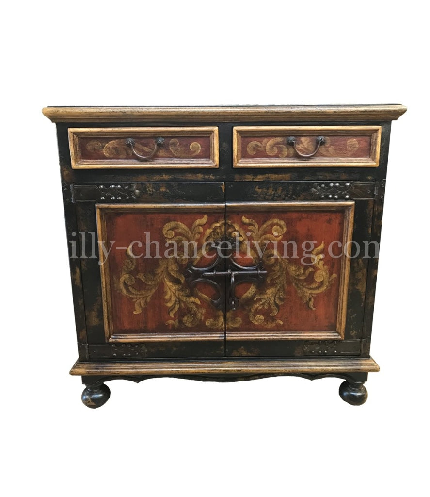 Martinique_Peruvian_wood_chest-Peruvian_Home_furnishings_Handpainted_Wood_chests--bonita_furniture-Hacienda_style_furniture-italian_renaissance_furniture-cerrojo_chest-reilly_chance