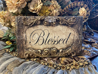 Michelle Butler Blessed Plaque