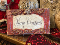 Michelle Butler Merry Christmas Plaque