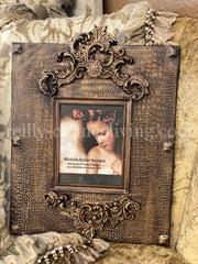 Michelle_Butler_original_heirloom_frame-faux_croc_picture_frame-old_world_picture_frames-decorative_picture_frames-country_french_decor_picture_frames-reilly_chance