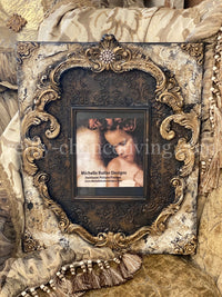 Michelle Butler Large Heirloom Picture Frame with Scrolls