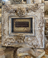 Michelle Butler Heirloom Tabletop Frame with Roses
