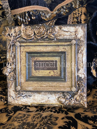 Michelle Butler Heirloom Tabletop Frame with Roses and Jewels