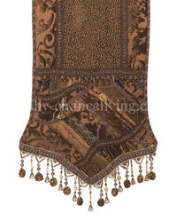 Old_world_table_runner-chocolate_brown-pieced-beads-embellished-reilly_chance_collection
