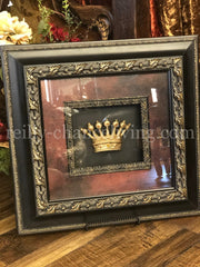 Jeweled Crown Framed Art Imperial Reilly-Chance Home Decor Retail Store Offerings
