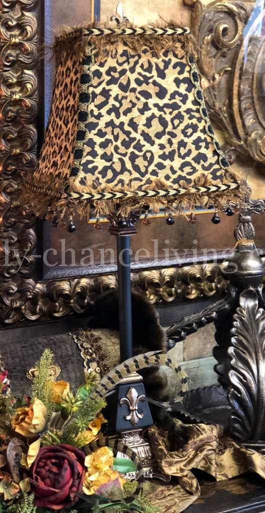 Old_world_style_home_decor-lamps-old_world_lamp-buffet_lamps-leopard_print_lamp_shades-tuscan_decor-reilly_chance