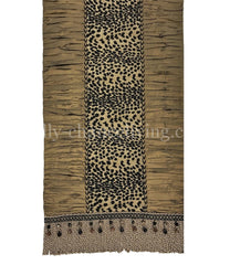 Designer Table Runner Leopard And Silk