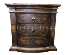 Peruvian Hand Crafted Milan Nightstand as Shown FREE SHIPPING