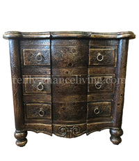 Peruvian Hand Crafted Sophia Nightstand FREE SHIPPING