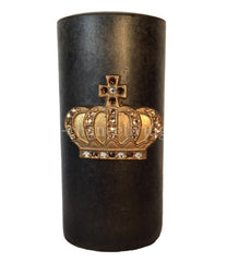 Triple_scented_candle-3x6-brown-roasted_chestnut-gold_jeweled_crown-sir_olivers-reilly_chance_collection_grande