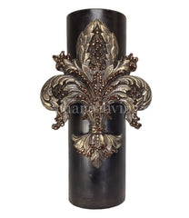 Triple_scented_candle-brown-4x12-roasted_chestnut-fleur_de_lis-sir_oliver-reilly_chance_collection_grande