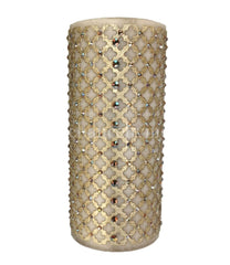 Triple_scented_candle-jeweled_candles-vanilla-4x9-champagne_jeweled_mesh-sir_olivers-reilly_chance_collection_grande